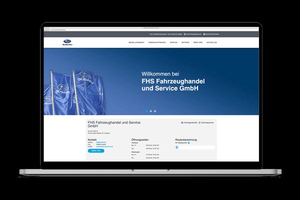 Notebook FHS Fahrzeughandel und Service GmbH